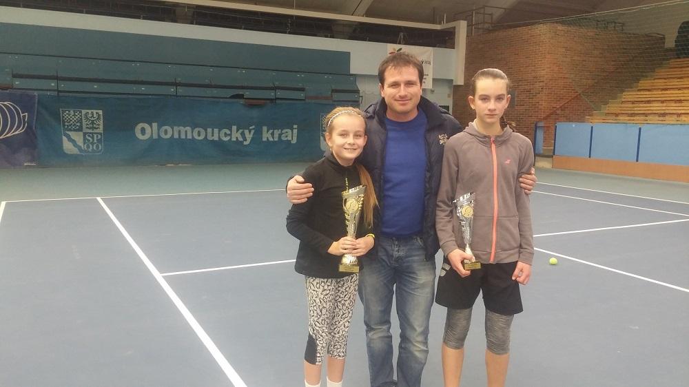 vítězka Marie Slaměníková, Pavel Huťka, Veronika Nováková