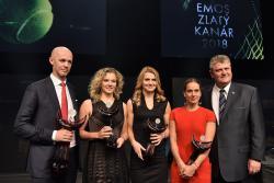 EMOS ZLATÝ KANÁR 2018 FED CUP
